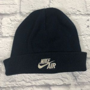 Nike knit hat. Navy blue